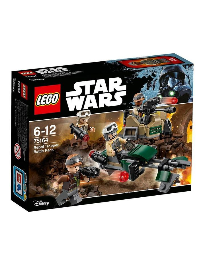 Star Wars Rogue One Rebel Trooper Battle Pack 75164 image 1