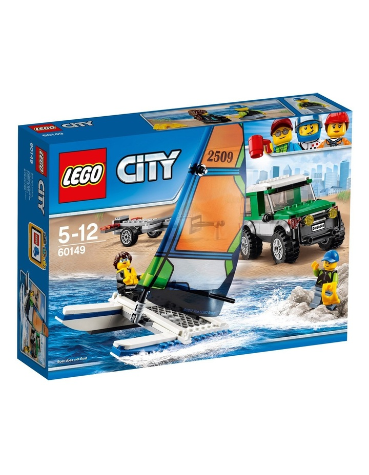 City 4x4 with Catamaran 60149 image 1