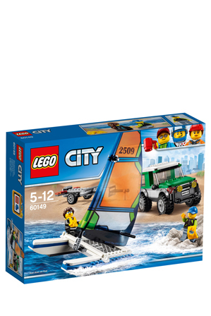 LEGO - City 4x4 with Catamaran 60149