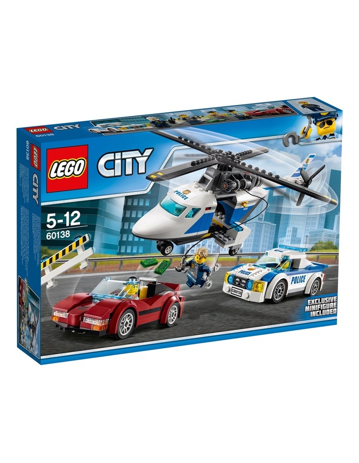 City High-speed Chase 60138 image 1