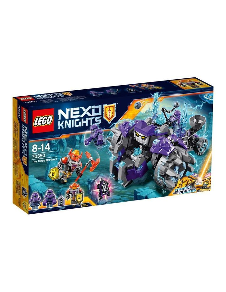 Nexo Knights Three Brothers 70350 image 1