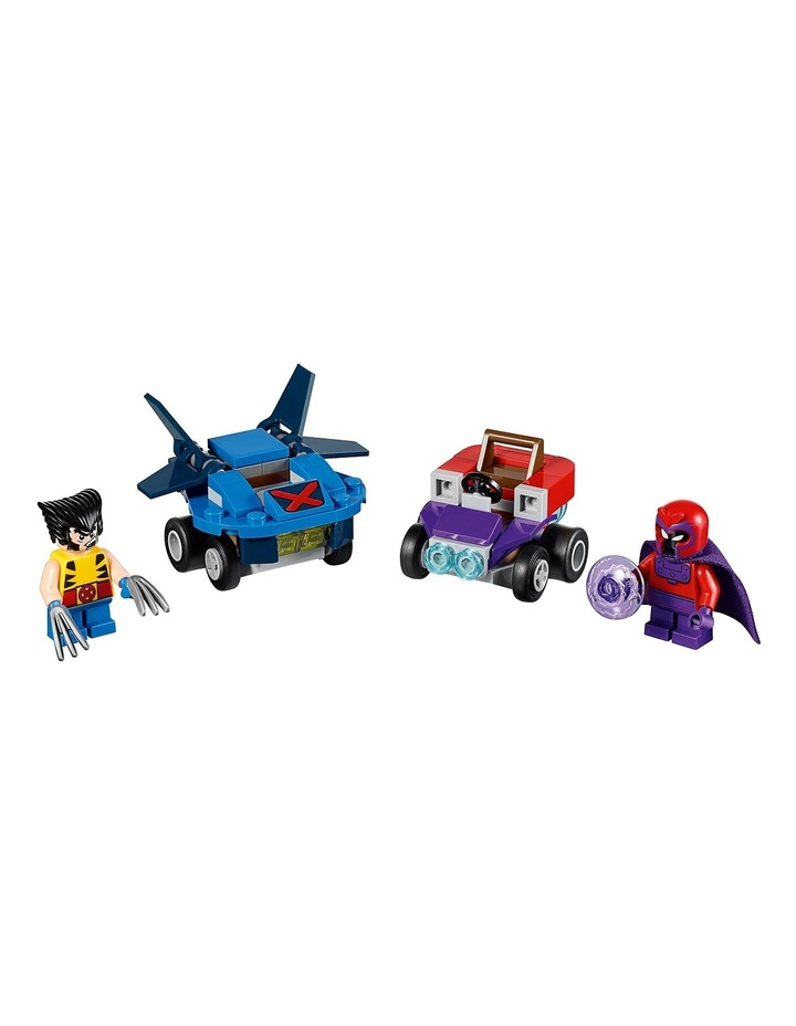 Super Heroes Mighty Micros: Wolverine vs. Magneto 76073 image 2