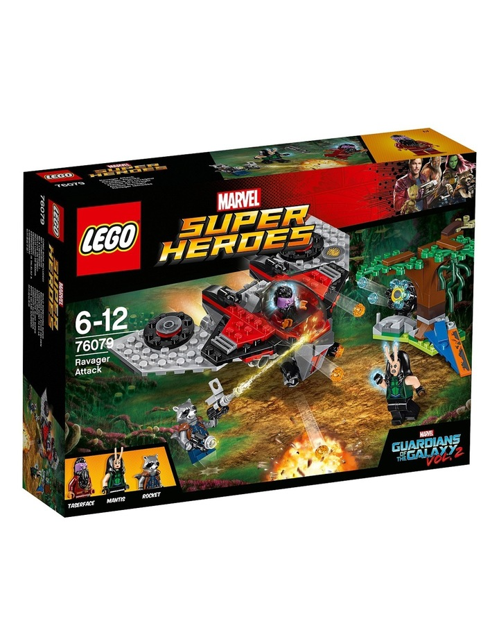 Super Heroes Guardians of the Galaxy Ravager Attack 76079 image 1