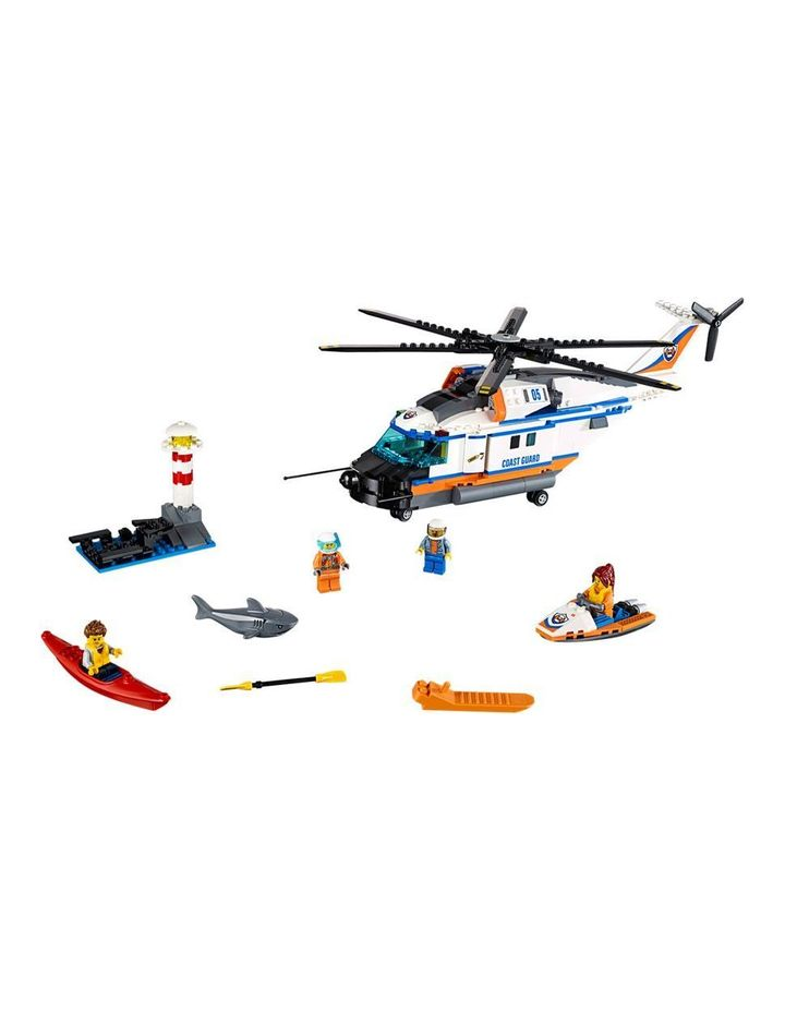 City Heavy-duty Rescue Helicopter 60166 image 2