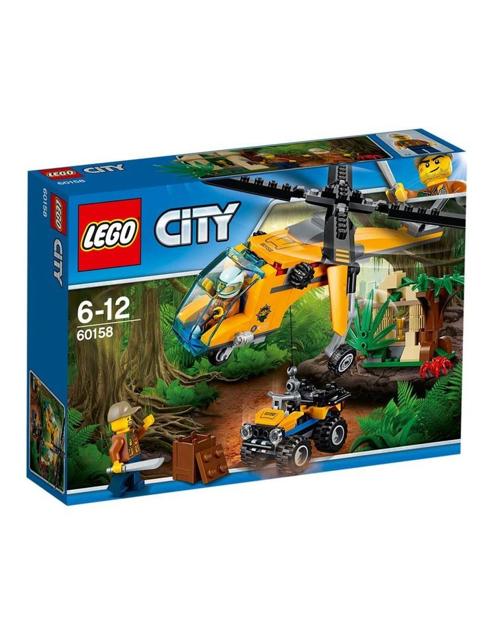 City Jungle Cargo Helicopter 60158 image 1