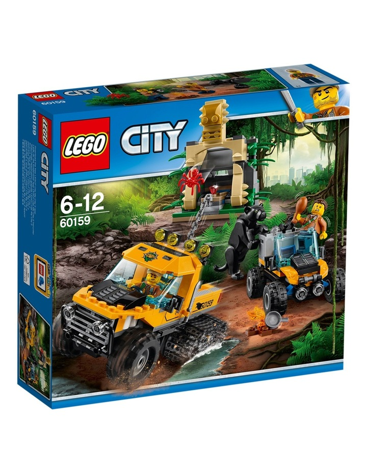 City Jungle Halftrack Mission 60159 image 1