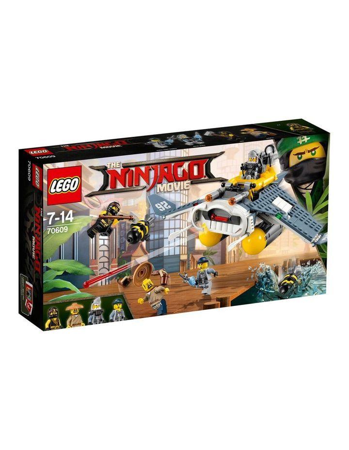 Ninjago Movie Manta Ray Bomber 70609 image 1