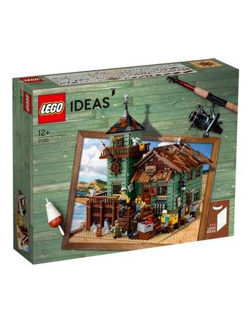 7f0985bb8ec LEGO Ideas Old Fishing Store 21310