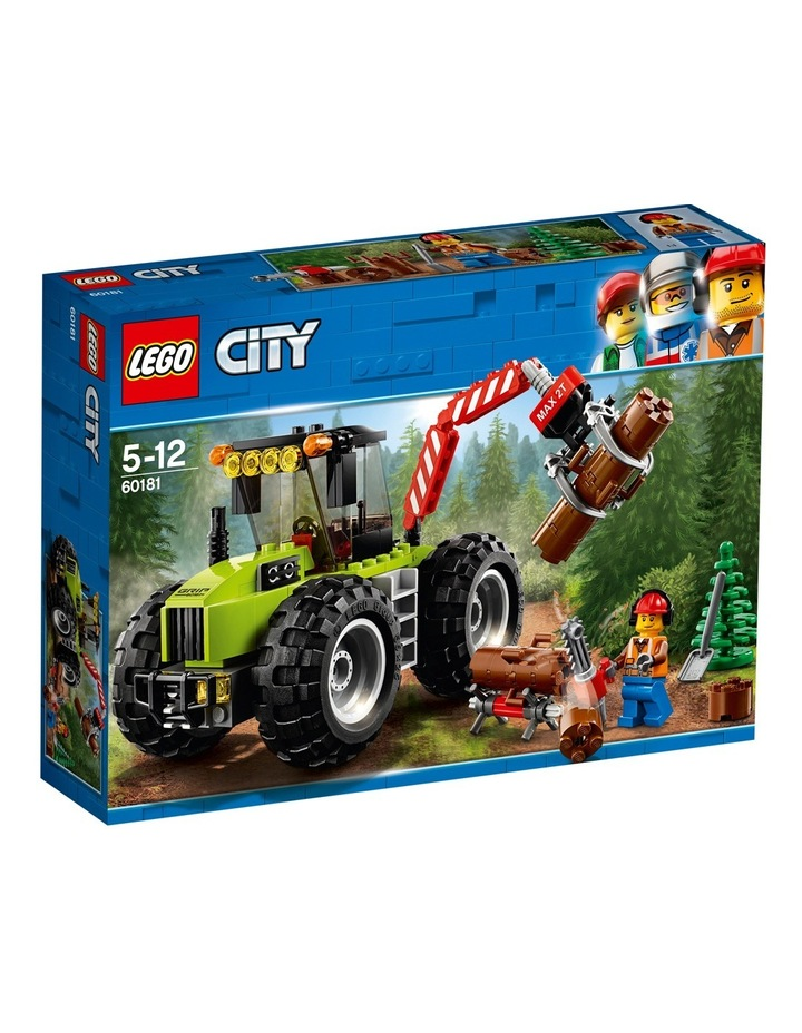 City Forest Tractor 60181 image 1