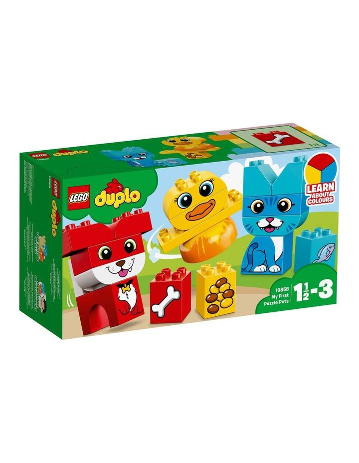 Duplo My First Puzzle Pets 10858 image 1