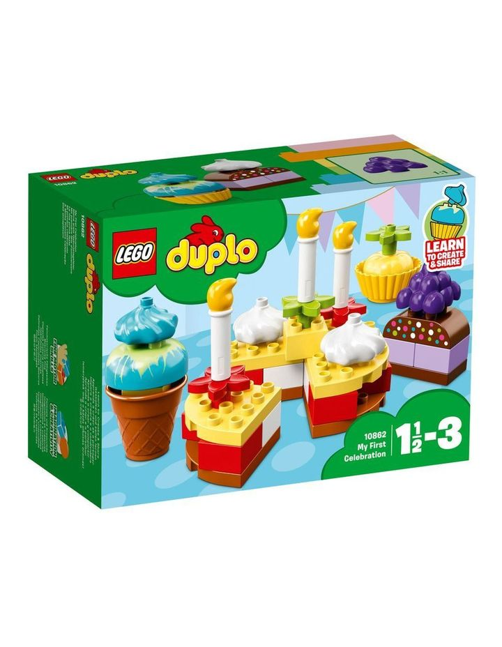 Duplo My First Celebration 10862 image 1
