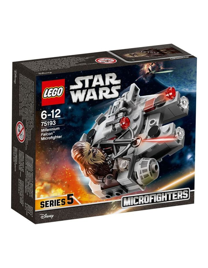 Star Wars Millennium Falcon Microfighter 75193 image 1