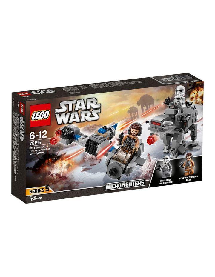 Star Wars First Order Ski Speeder 75195 image 1