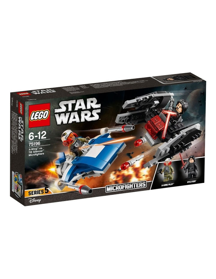 Star Wars A-Wing Vs. Tie Silencer Micro 75196 image 1