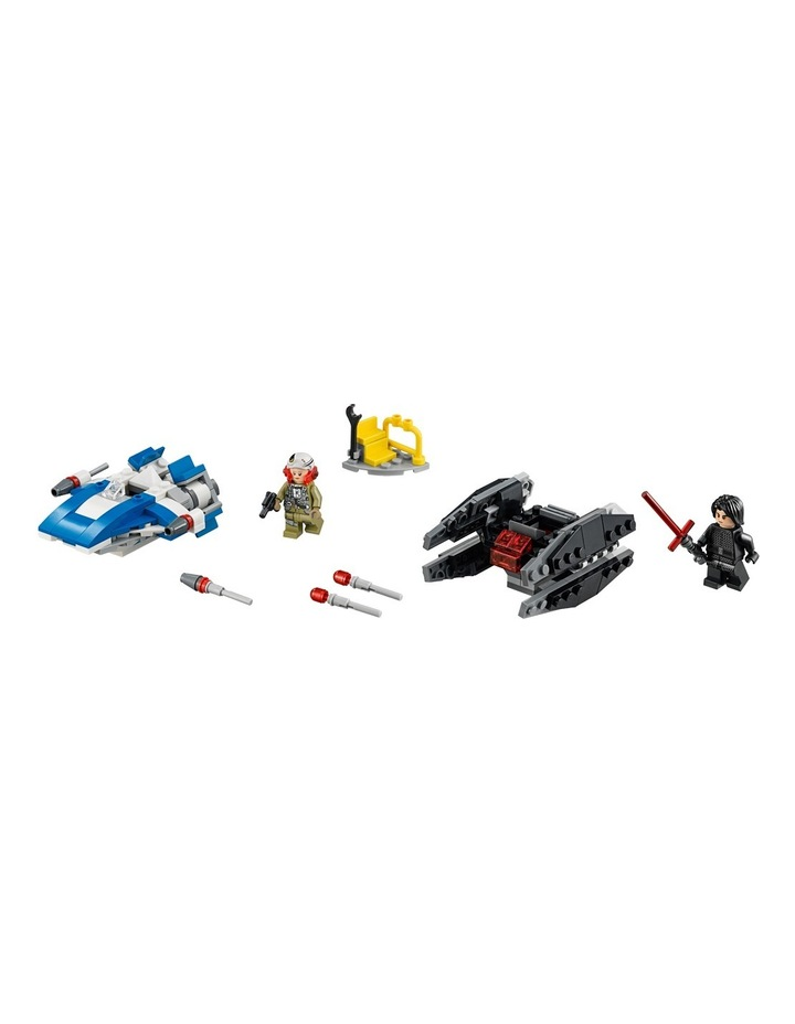 Star Wars A-Wing Vs. Tie Silencer Micro 75196 image 2