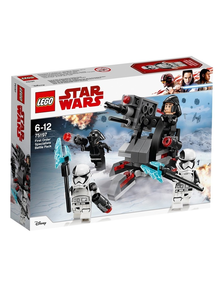First Order Specialists Battle Pack 75197 image 1
