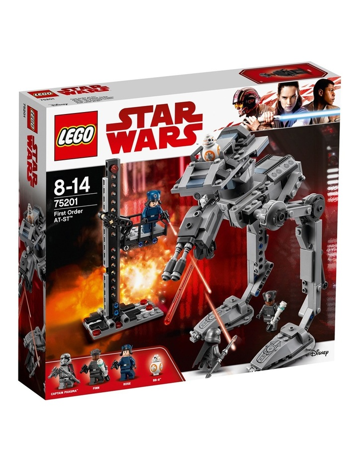 Star Wars First Order AT-ST 75201 image 1