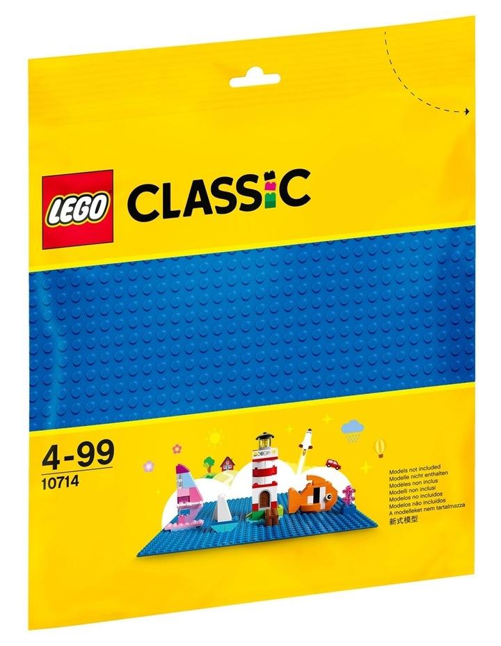 Blue Baseplate 10714 image 2