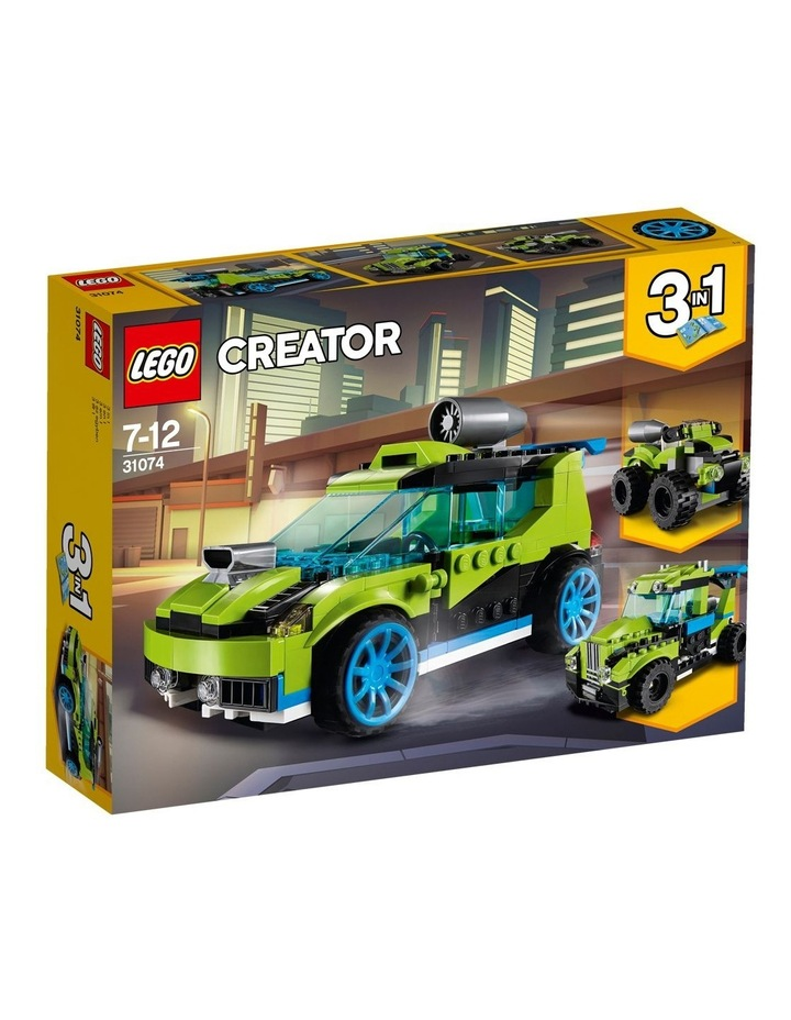 Creator Rocket Rally Car 31074 image 1