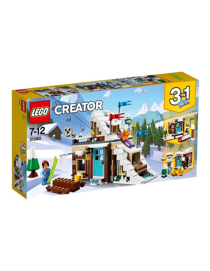 Creator Modular Winter Vacation 31080 image 1