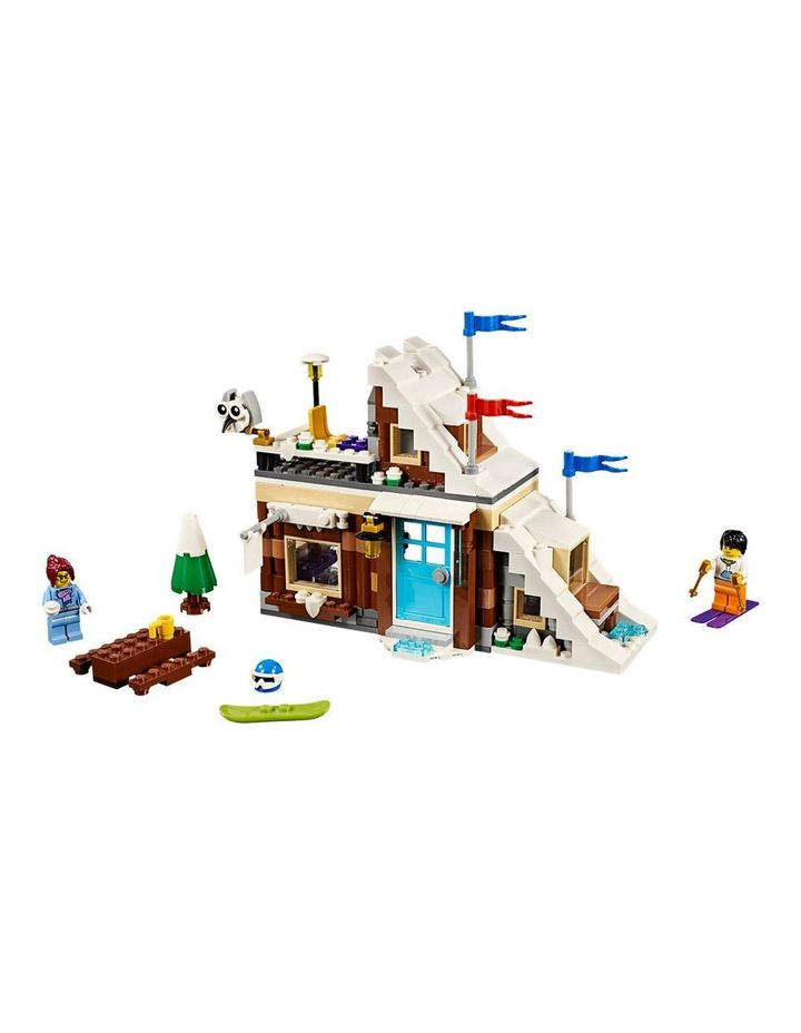 Creator Modular Winter Vacation 31080 image 2