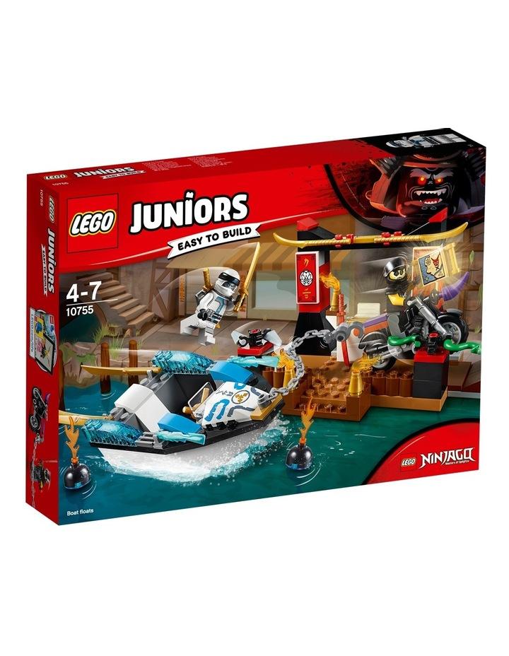 Juniors Zane's Ninja Boat Pursuit 10755 image 1