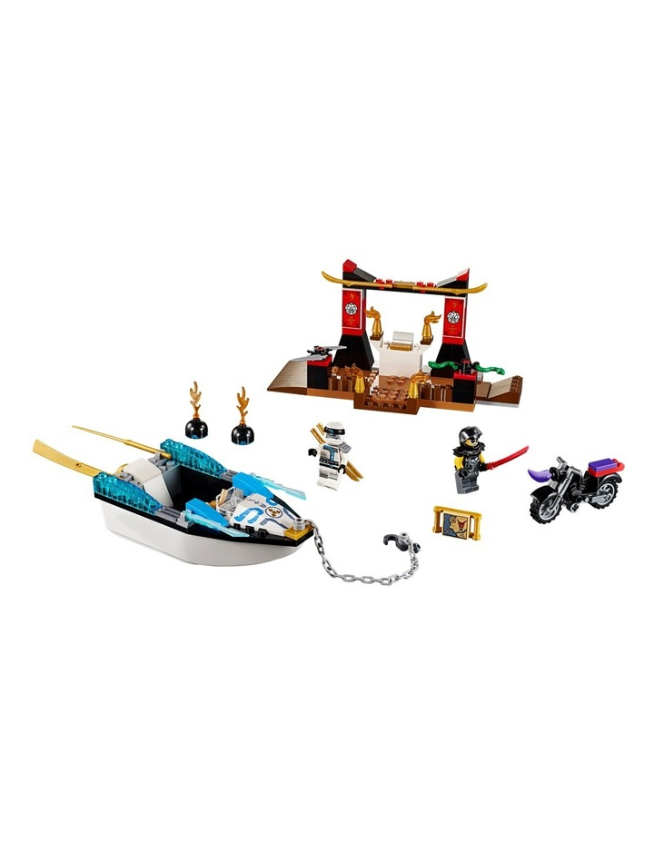 Juniors Zane's Ninja Boat Pursuit 10755 image 2