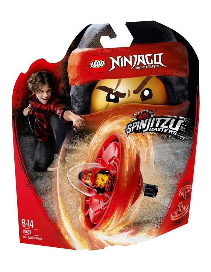 Ninjago Kai Spinjitzu Master 70633 image 1