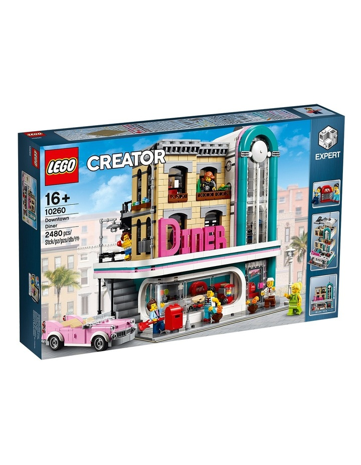 Creator Expert Downtown Diner 10260 image 1