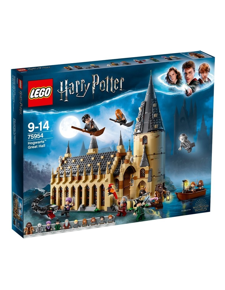 World Of Wizards Hogwarts Great Hall 75954 image 2