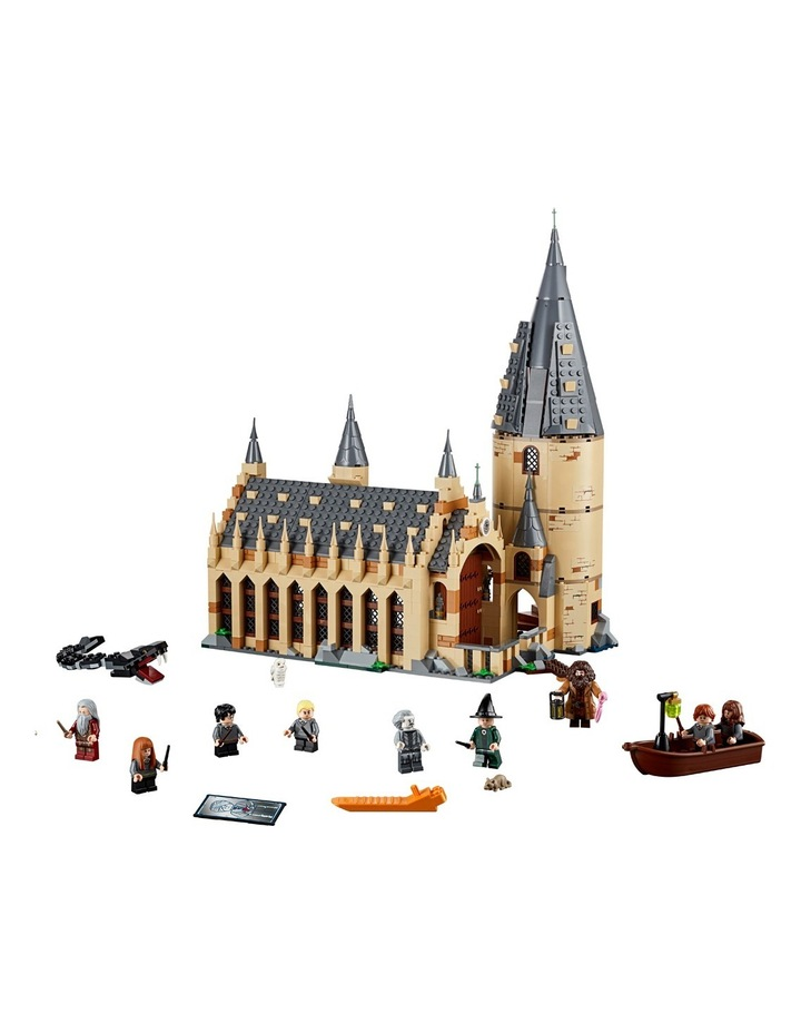 World Of Wizards Hogwarts Great Hall 75954 image 4