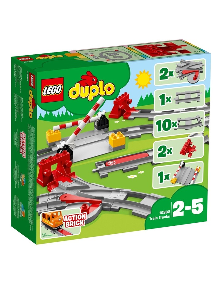 Duplo Train Tracks 10882 image 2