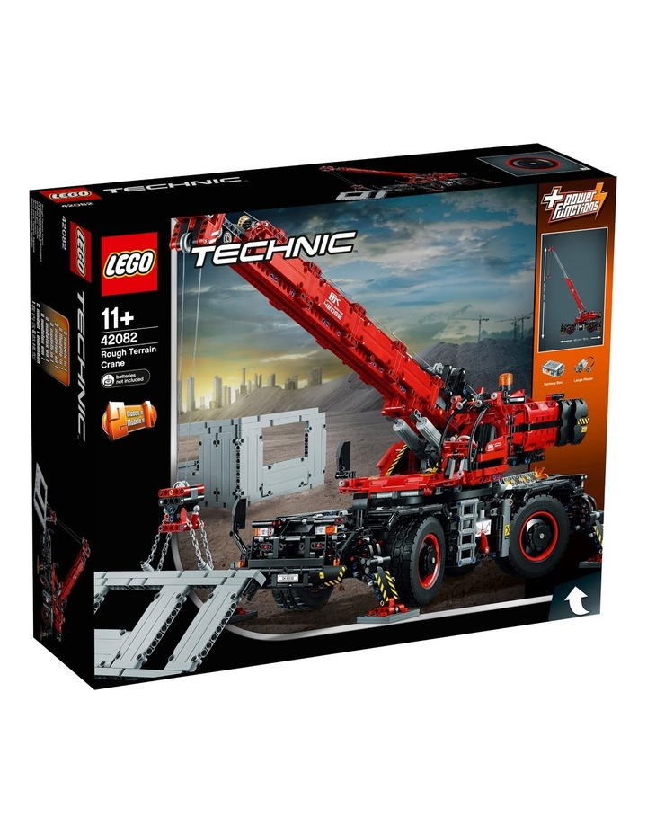 Technic Rough Terrain Crane 42082 image 1