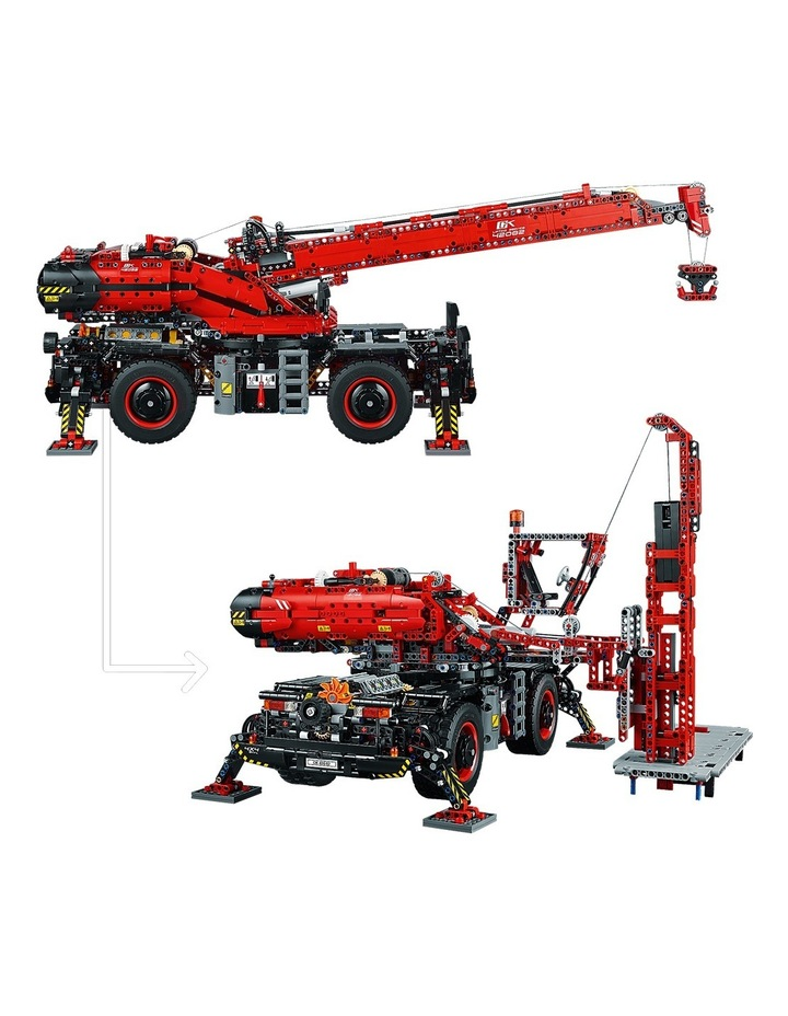 Technic Rough Terrain Crane 42082 image 4