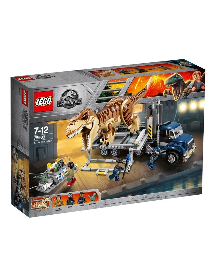 Jurassic World T-Rex Transport 75933 image 1