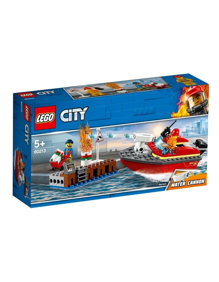City Dock Side Fire image 1