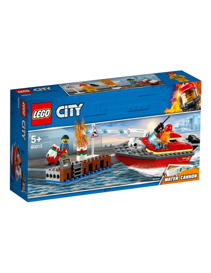 City Dock Side Fire image 2