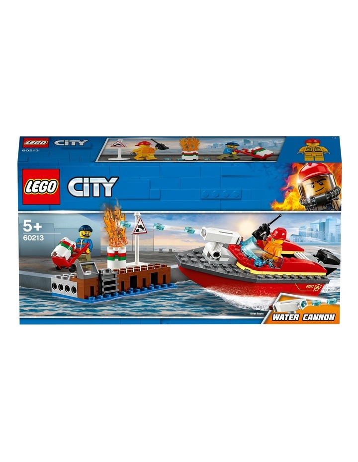 City Dock Side Fire image 4