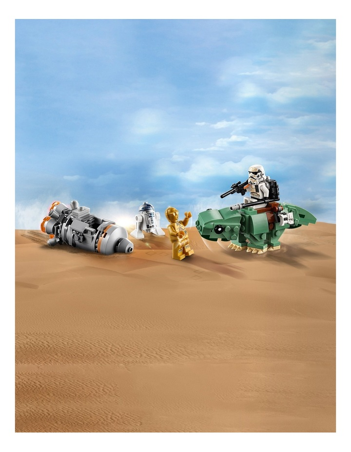 Star Wars Escape Pod vs Dewback Microfighters image 6