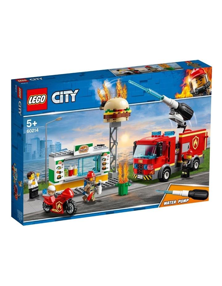 City Burger Bar Fire Rescue image 1