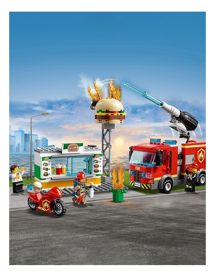 City Burger Bar Fire Rescue image 5