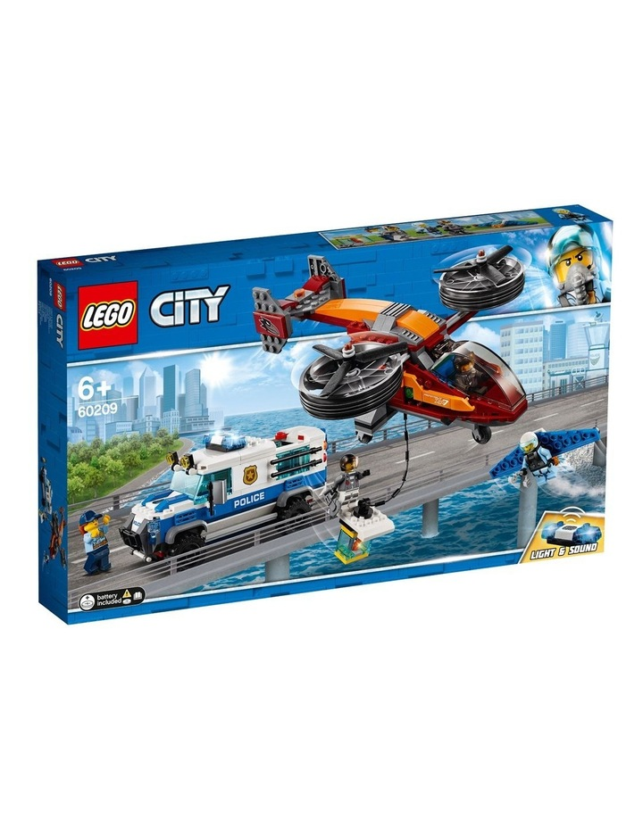 City Sky Police Diamond Heist image 1