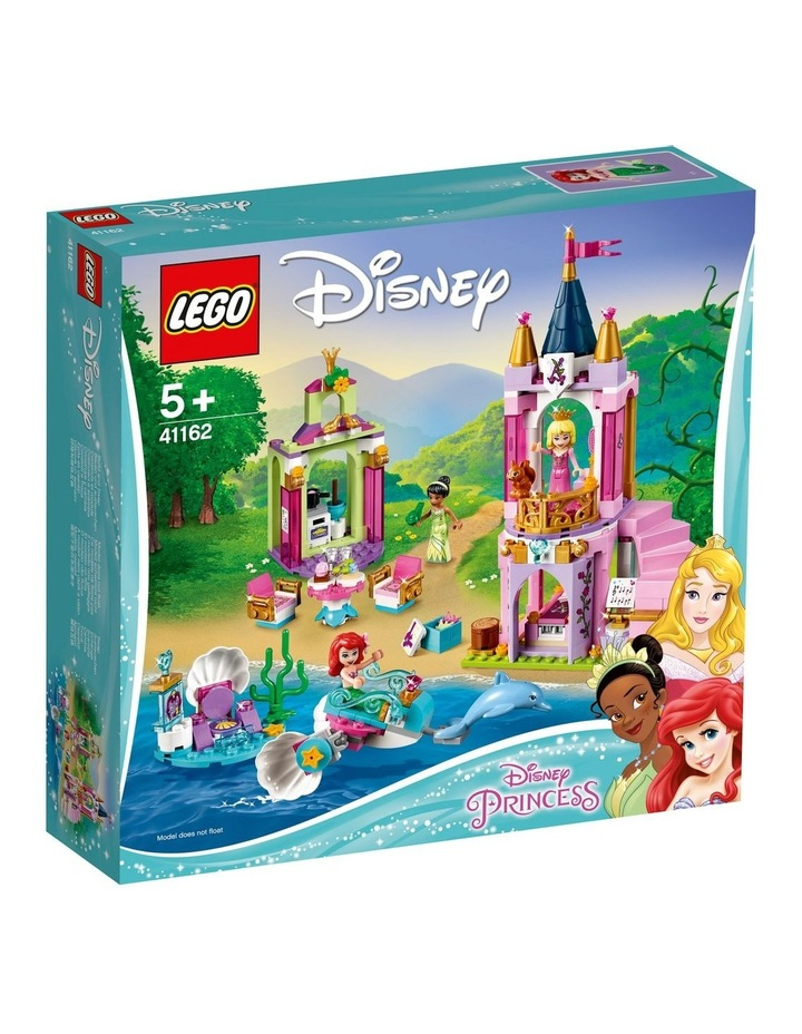 Disney Ariel, Aurora, and Tiana's Royal Celebra 41162 image 1