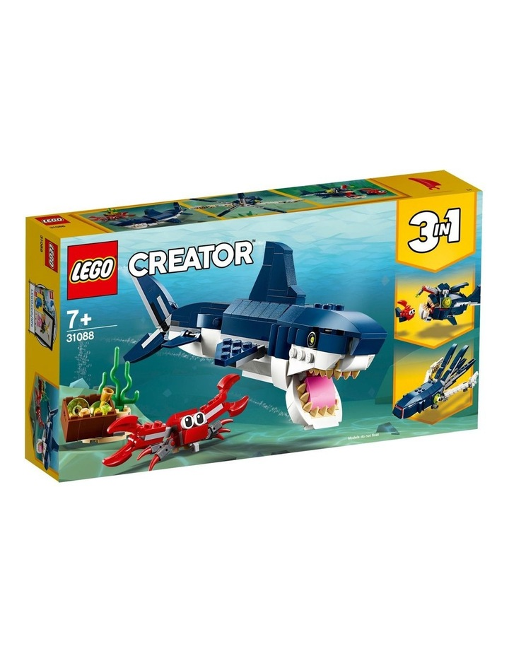 Creator Deep Sea Creatures 31088 image 1