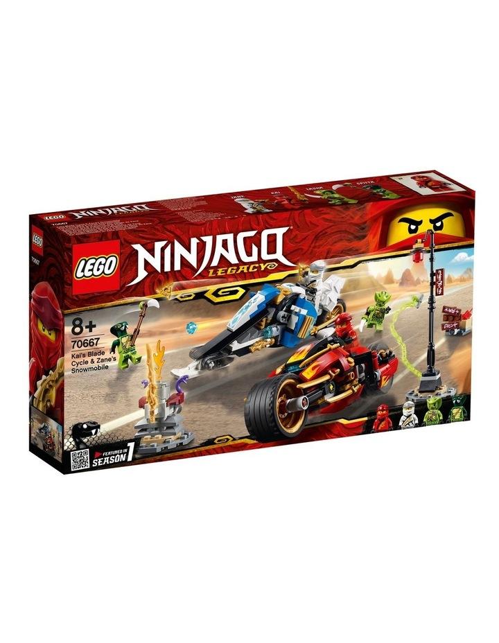 Ninjago Kai's Blade Cycle & Zane's Snowmobile 70667 image 1