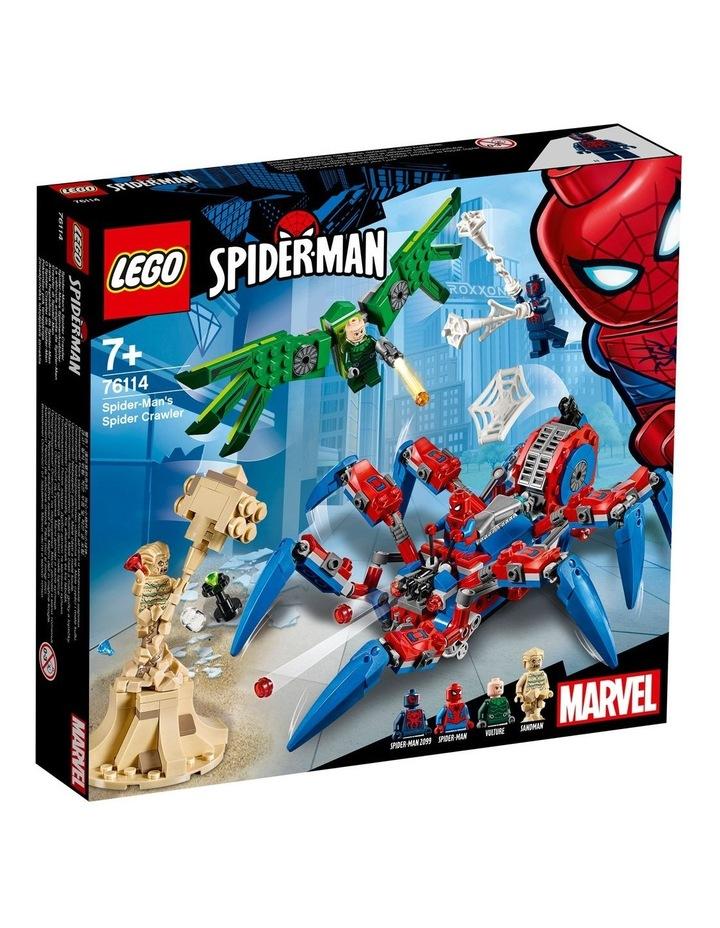 Super Heroes Spider-Man's Spider Crawler 76114 image 1