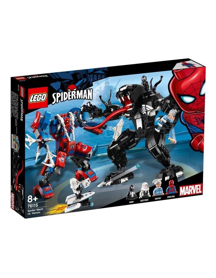 Super Heroes Spider Mech vs. Venom 76115 image 1