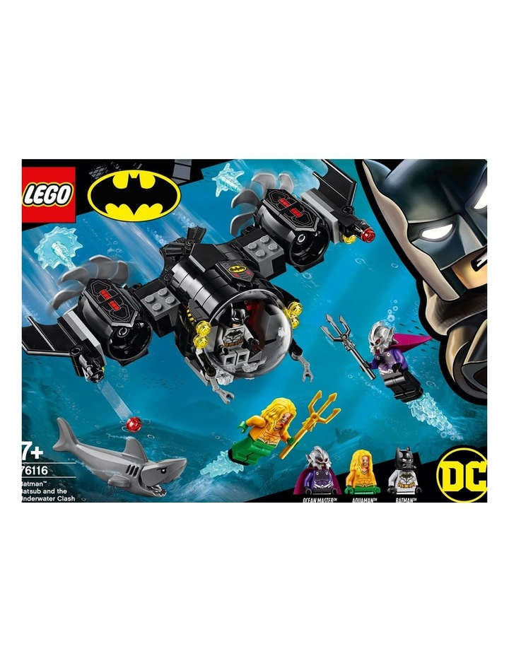 Super Heroes Batman Batsub and the Underwater Clash 76616 image 2