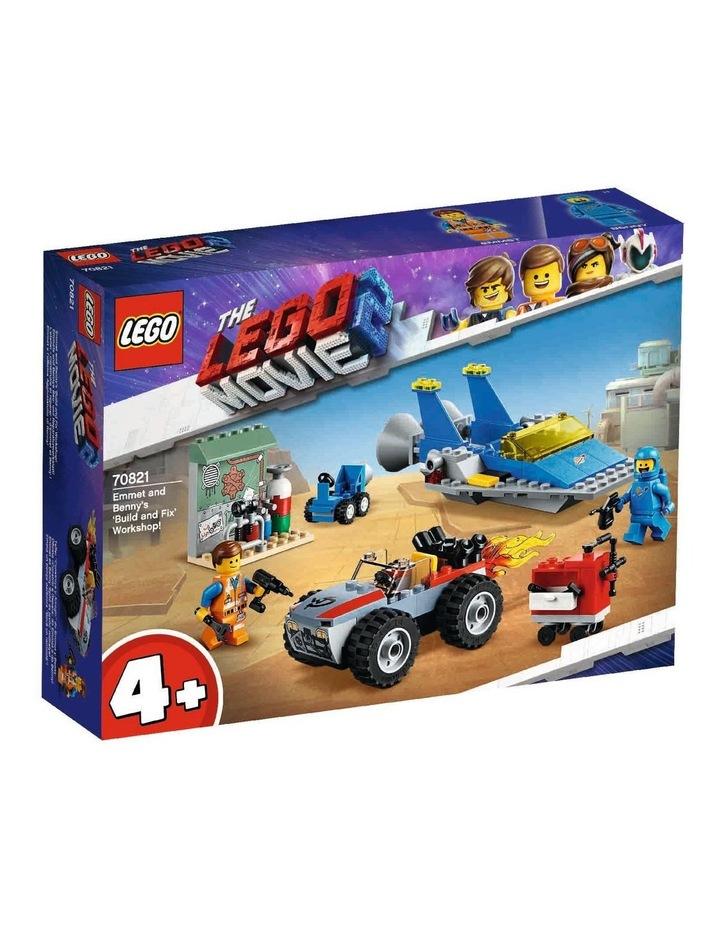 LEGO Movie 2 Emmet and Benny's Build and Fix' Workshop 70821 image 1
