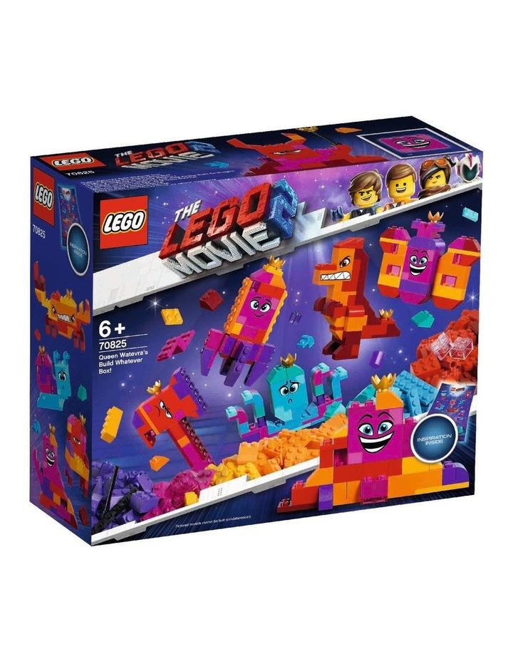 LEGO Movie 2 Queen Watevra's Build Whatever Box! 70825 image 1